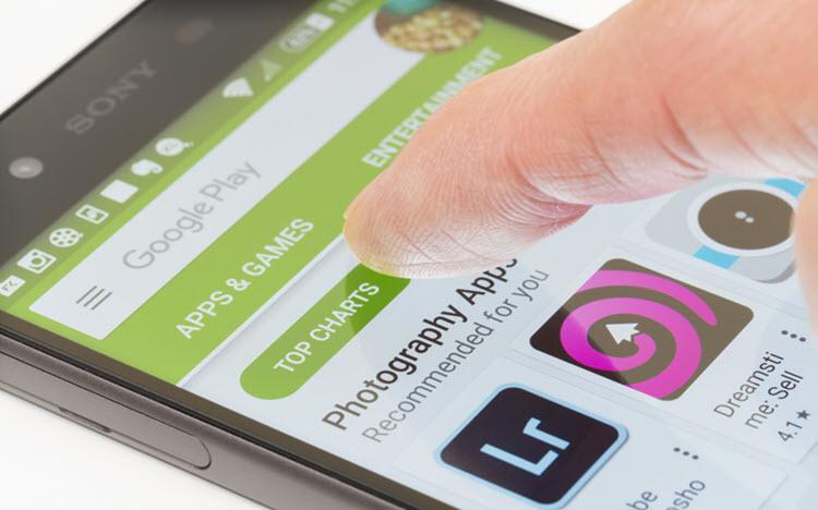 Cách mua ứng dụng bằng ví Momo trên Google Play