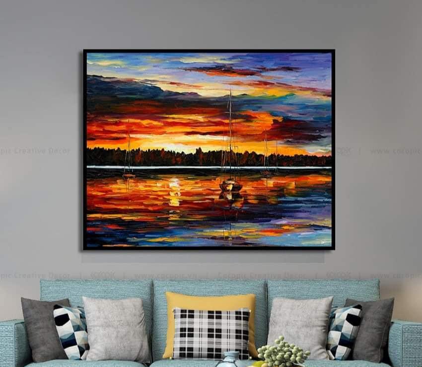 Ảnh tranh canvas nghệ thuật
