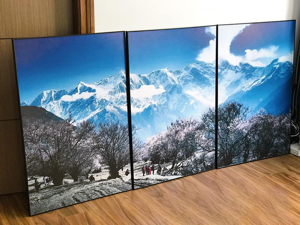 Hình ảnh tranh canvas phong cảnh