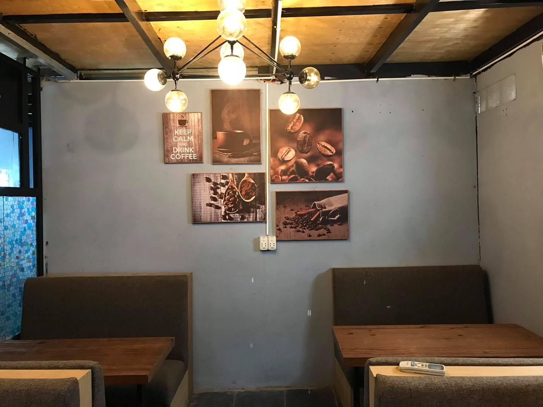 Hình ảnh tranh canvas quán cafe