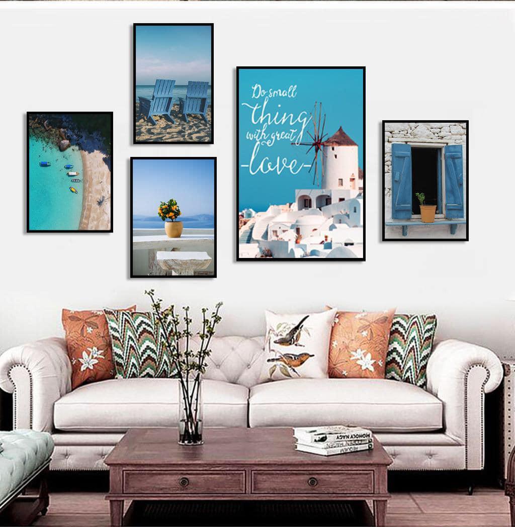Hình ảnh tranh canvas tường