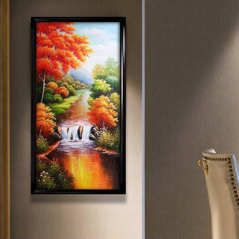 Mẫu tranh canvas dọc