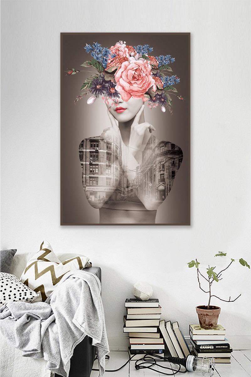 Mẫu tranh canvas nghệ thuật