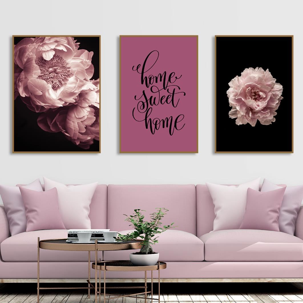 Mẫu tranh canvas treo tường
