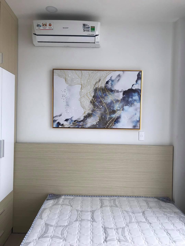 Tranh treo tường khổ ngang cho phòng ngủ