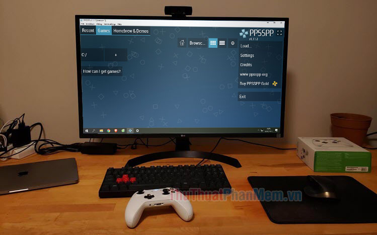 Cách giả lập PSP trên PC bằng PPSSPP