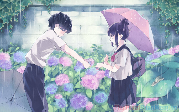 Hình ảnh Anime tình yêu tuyệt đẹp