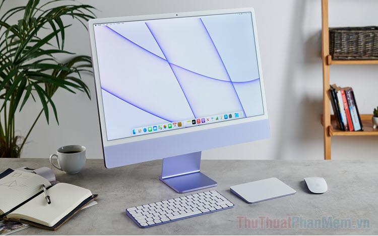 Trọn bộ hình nền iMac 2021