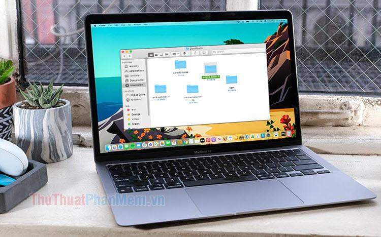 Cách tạo thư mục, Folder trên macOS