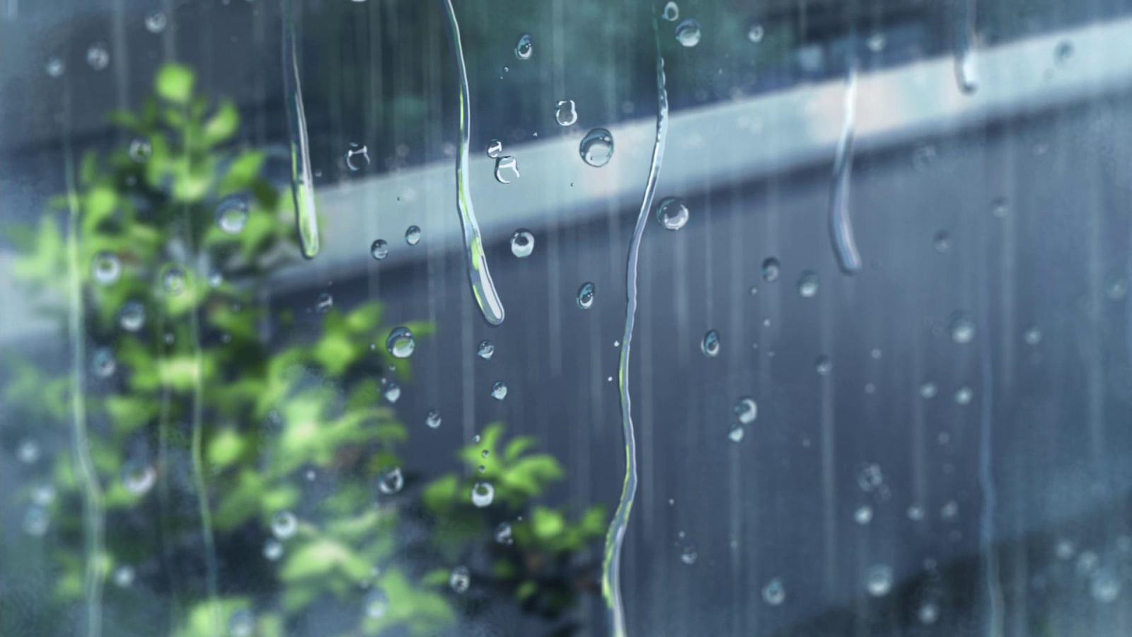 Background mưa Anime cực đẹp