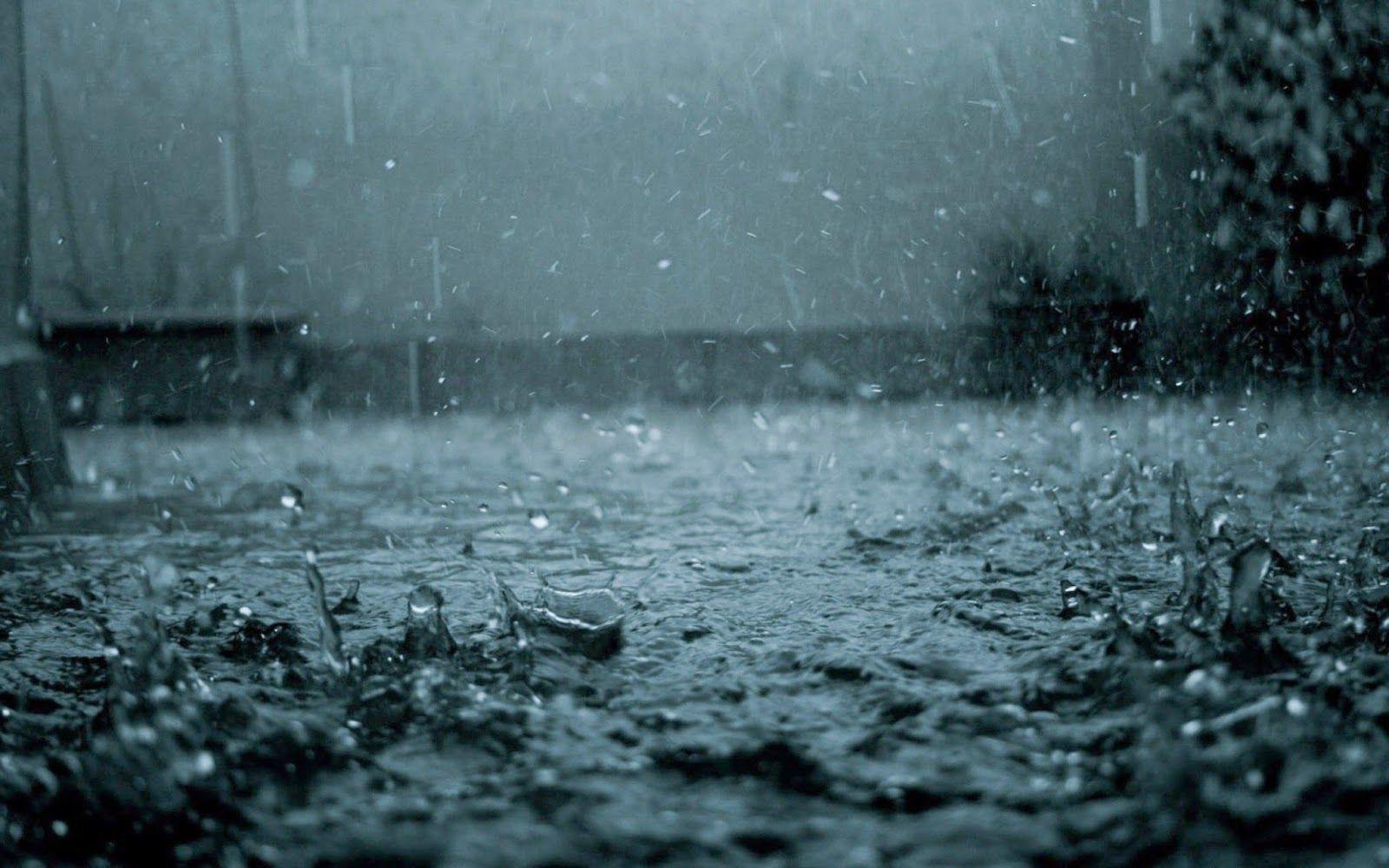 Background mưa buồn
