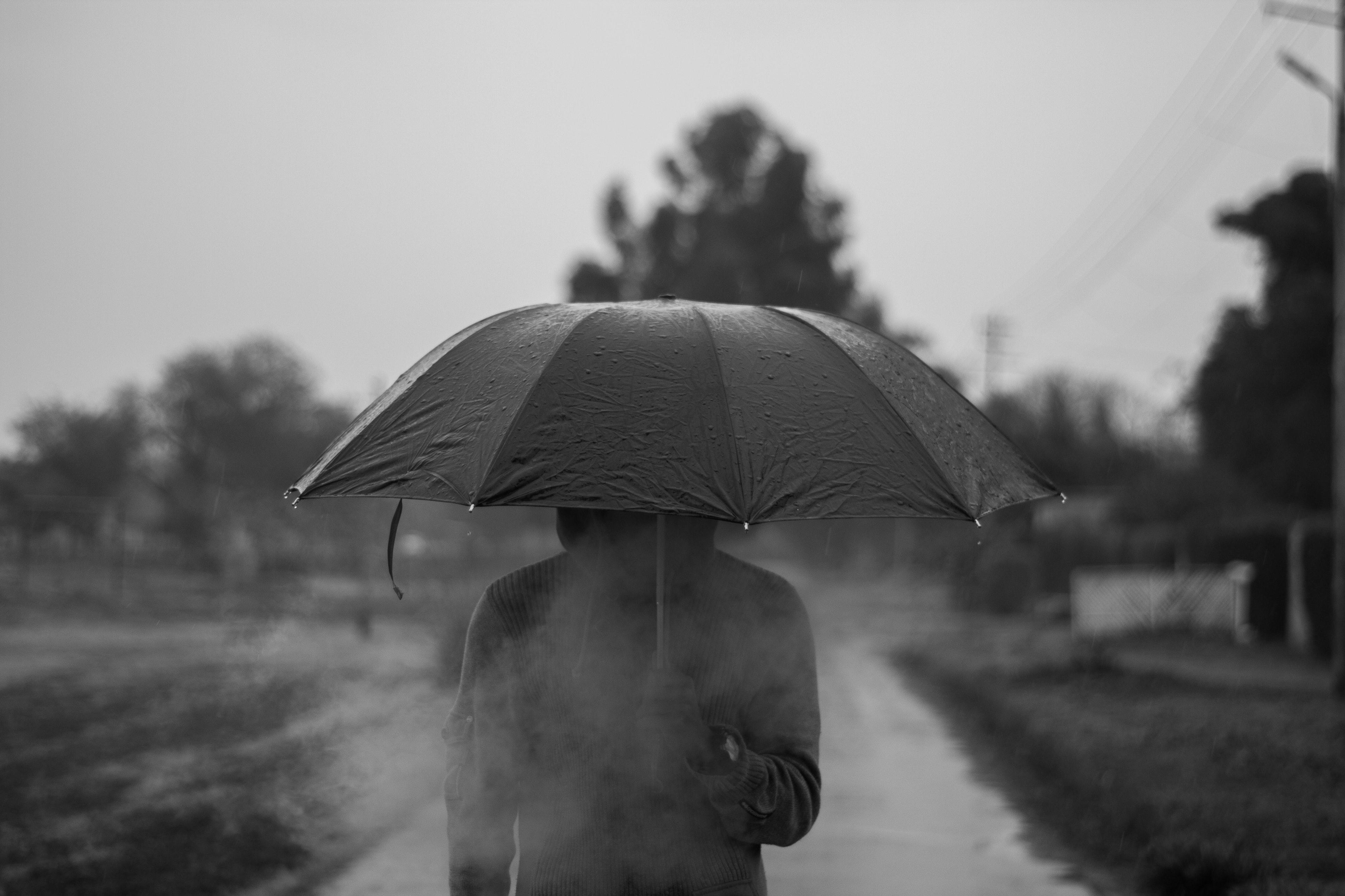 Background mưa cực buồn