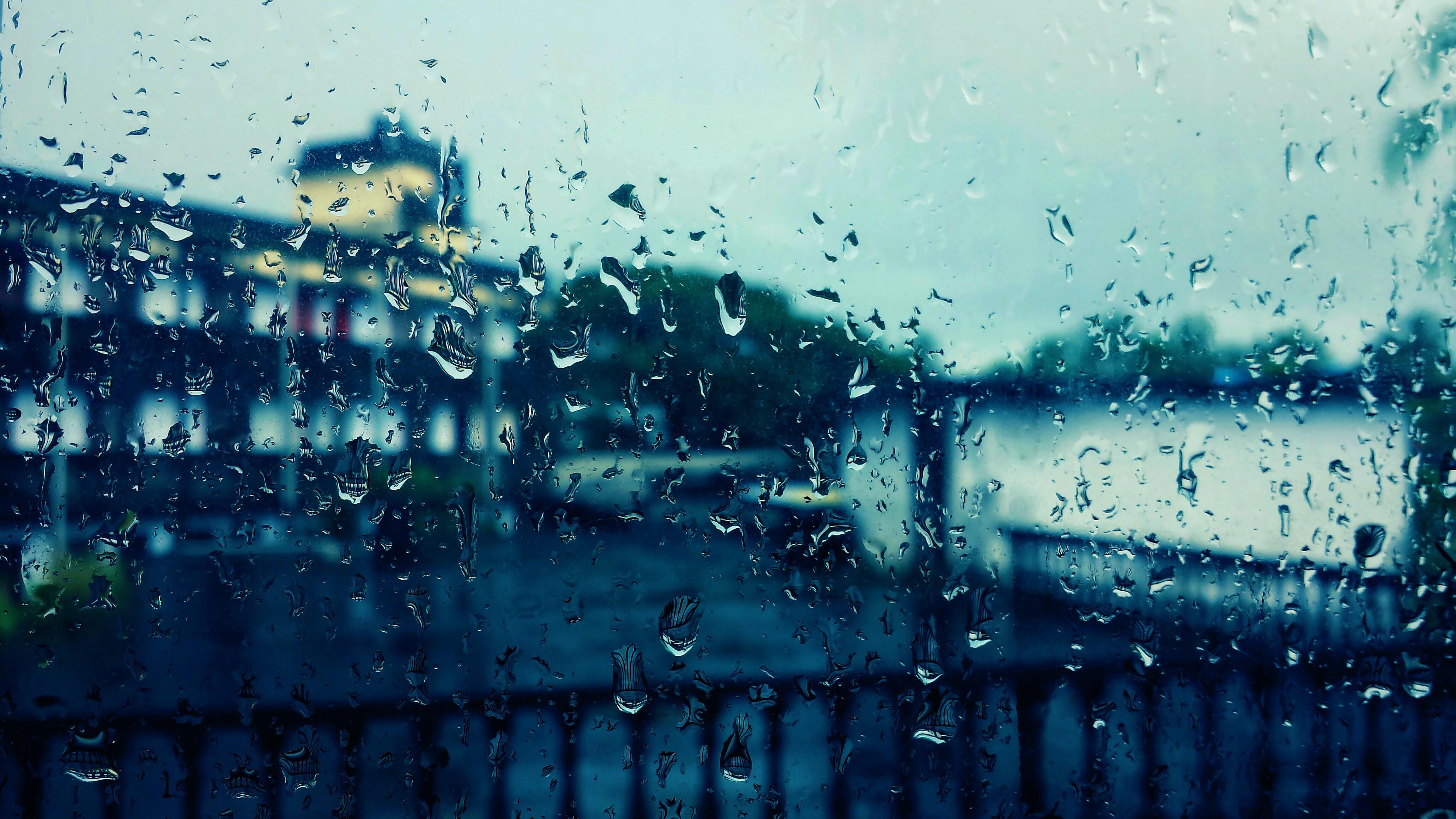 Background trời mưa buồn sâu lắng