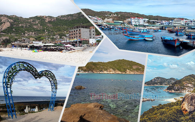 Hình ảnh đảo Bình Ba đẹp