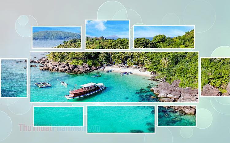 Hình ảnh đảo Nam Du đẹp