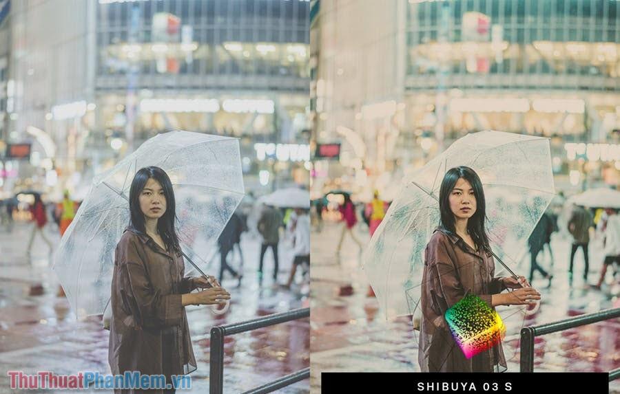 Bộ Preset màu Nhật Bản – Japan Rainy