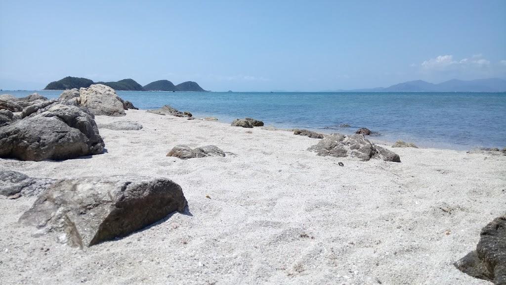Ảnh đảo Điệp Sơn cát trắng
