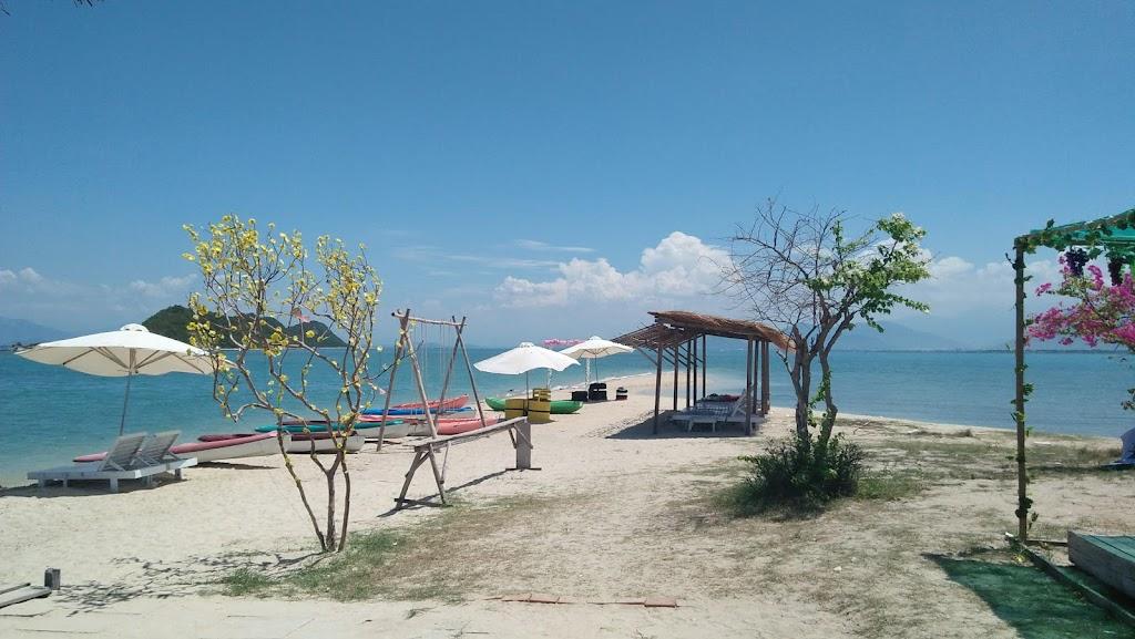Ảnh đảo Điệp Sơn nắng đẹp