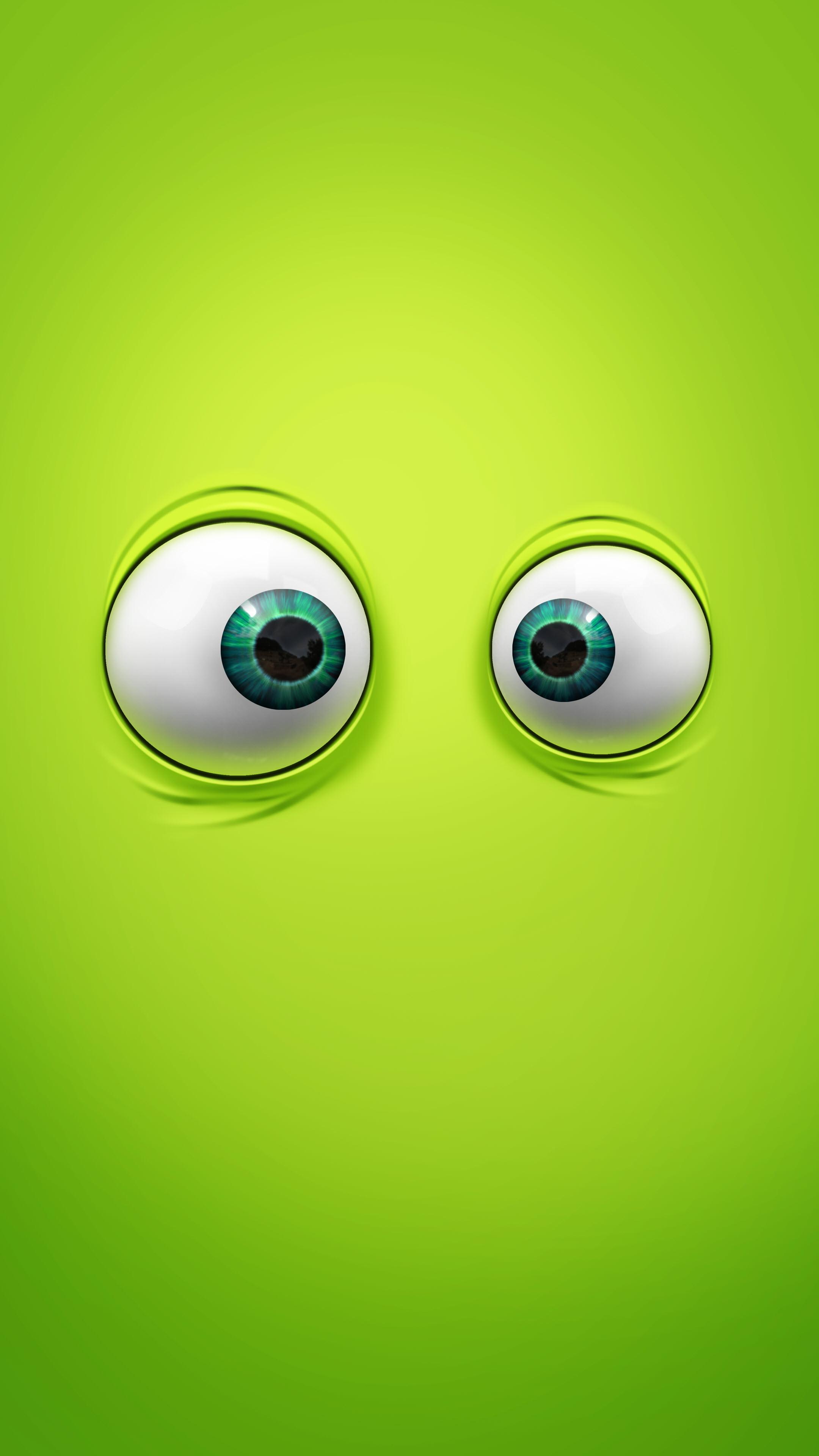 Ảnh nền điện thoại 4K đôi mắt