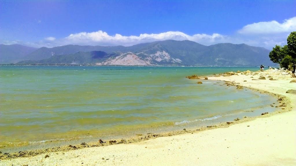 Hình ảnh bờ biển đảo Điệp Sơn