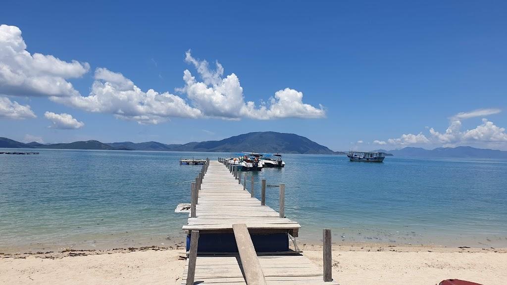 Hình ảnh cầu trên đảo Điệp Sơn