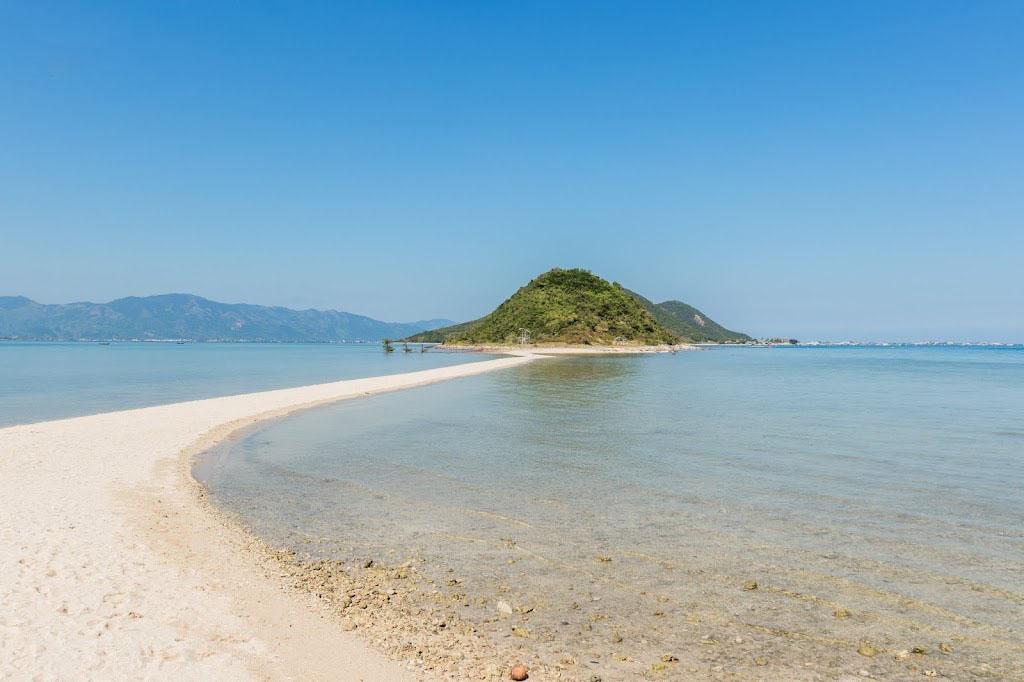 Hình ảnh đường trên biển đảo Điệp Sơn