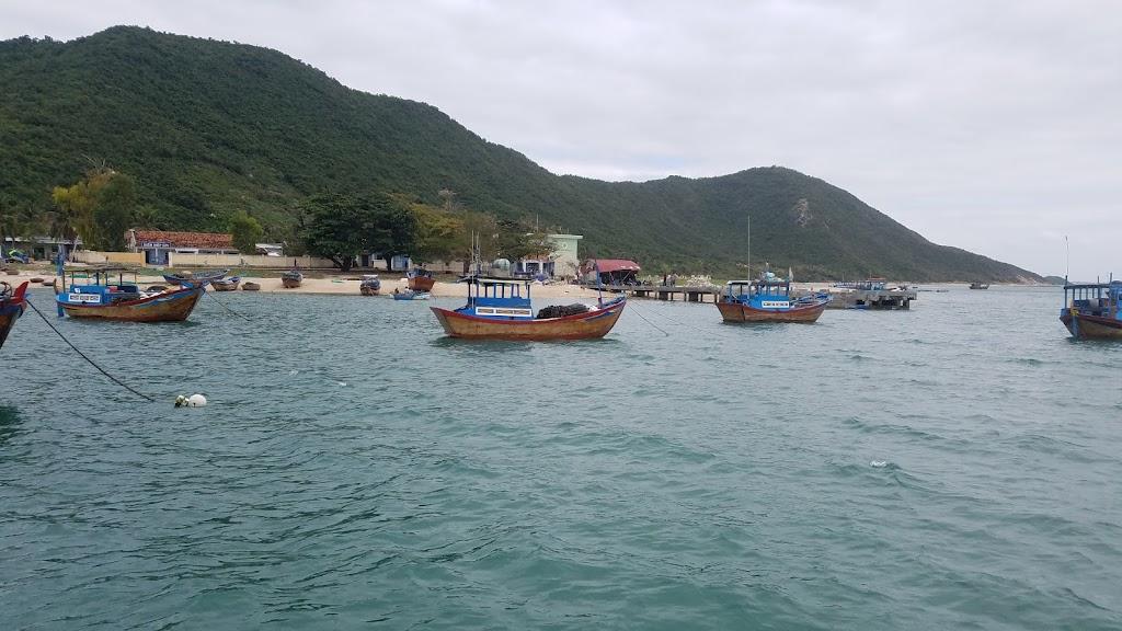 Hình ảnh thuyền cá đảo Điệp Sơn