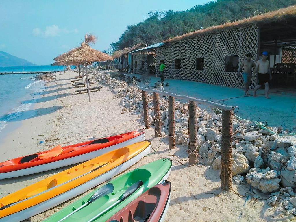 Hình ảnh thuyền kayak đảo Điệp Sơn