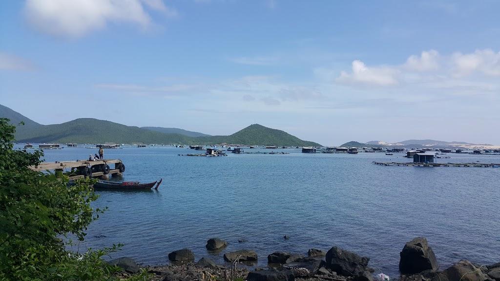 Hình ảnh trên đảo Điệp Sơn
