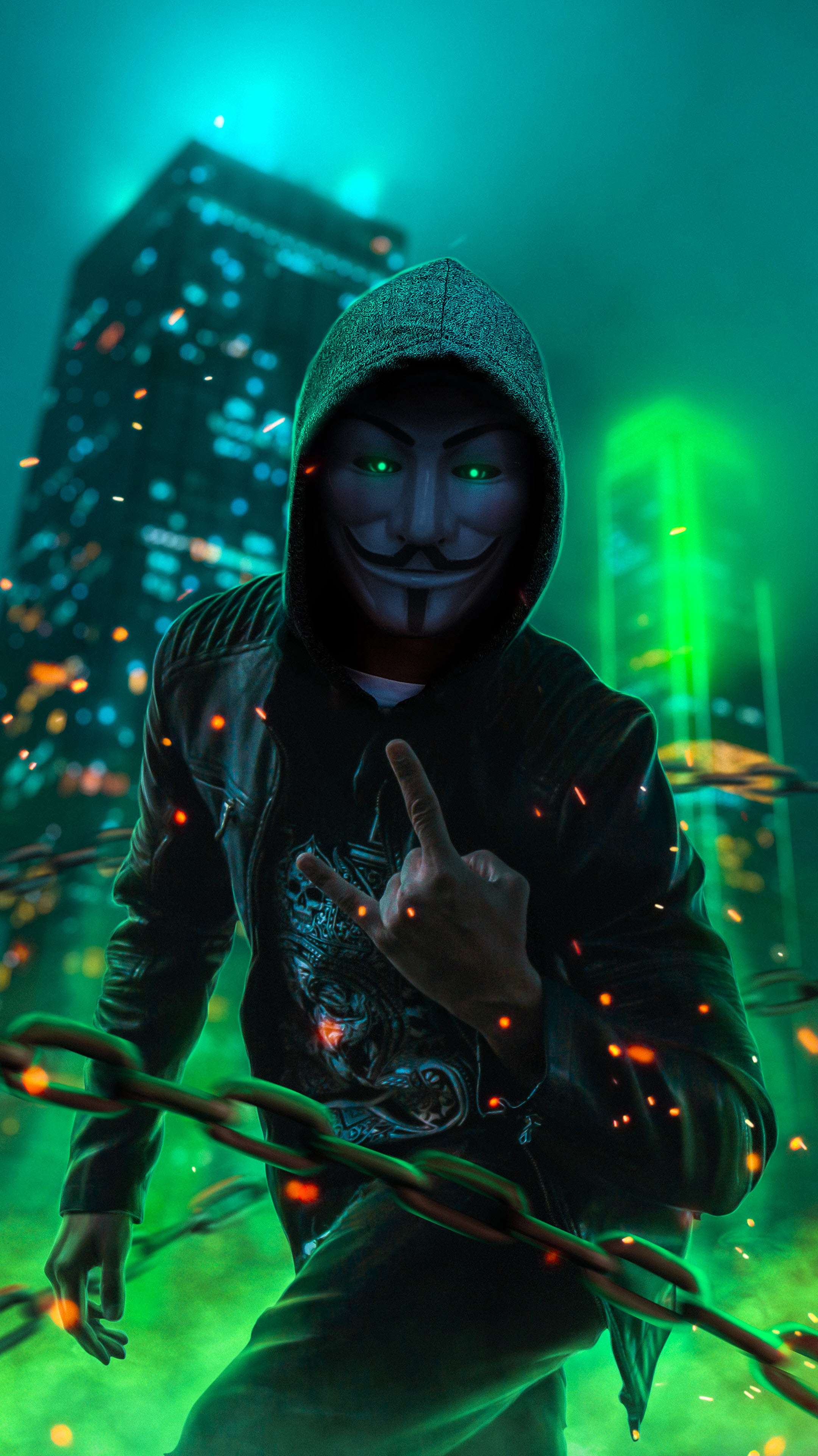 Hình nền điện thoại 4K hacker