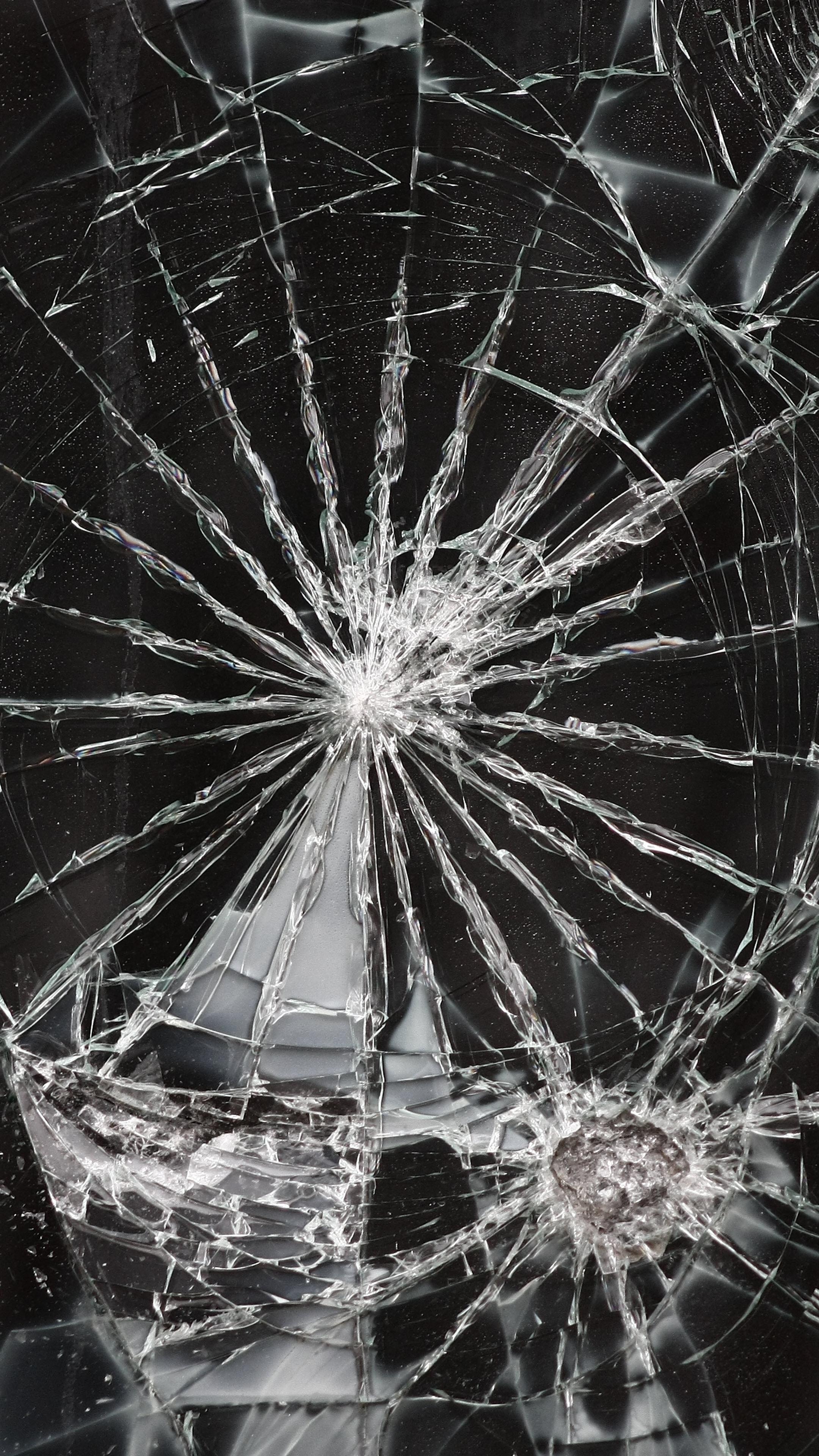 Hình nền vỡ kính điện thoại 4K