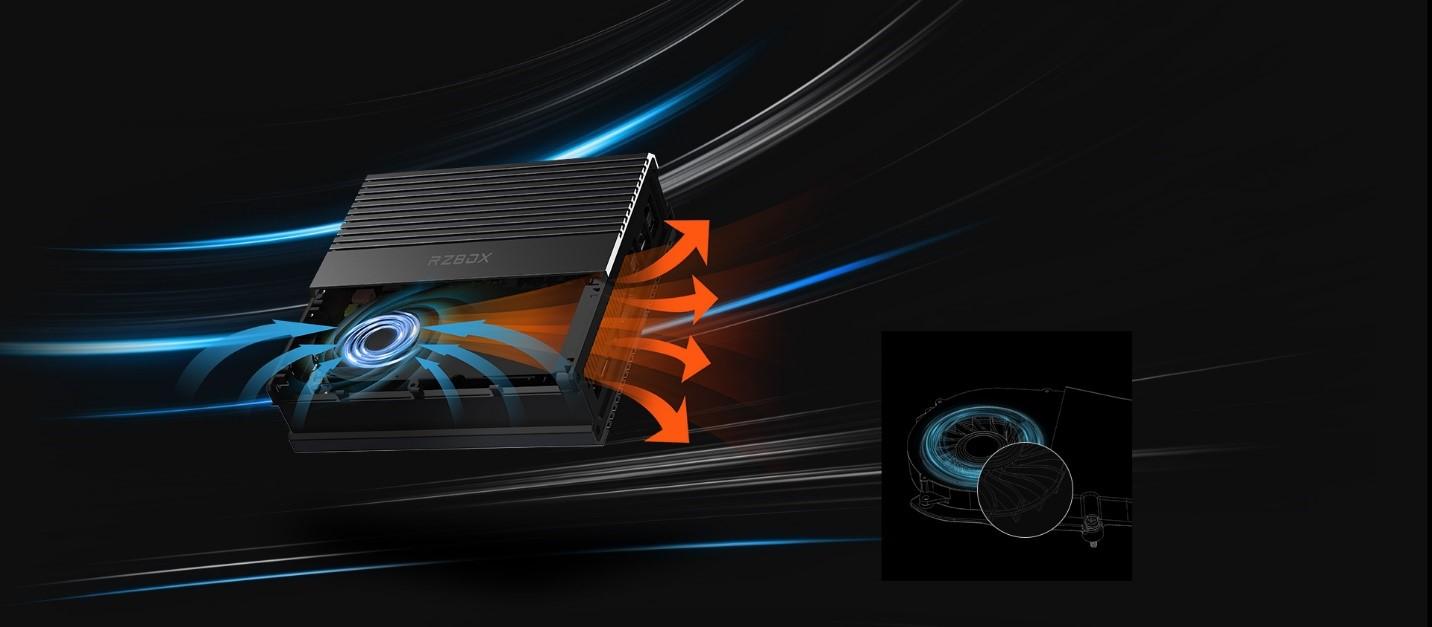 CHUWI RZBOX Mini PC không chỉ đẹp mà còn mạnh với Ryzen 9 4900H