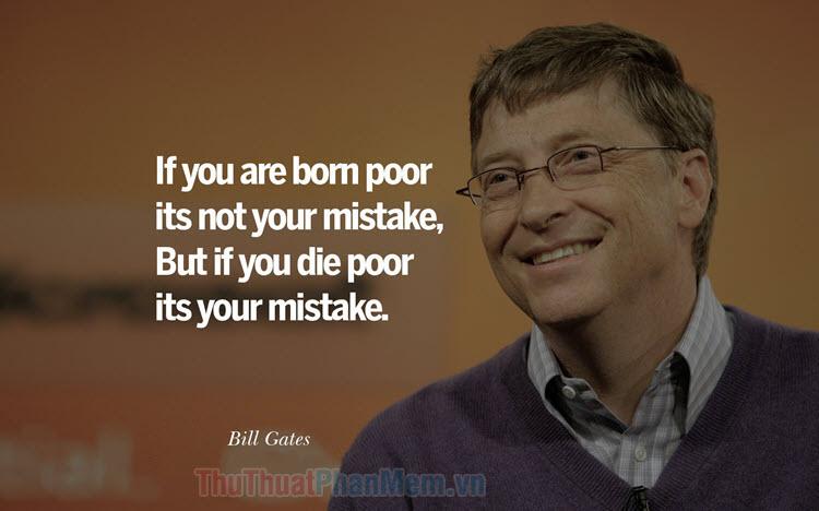 50+ Câu nói hay nhất của Bill Gates
