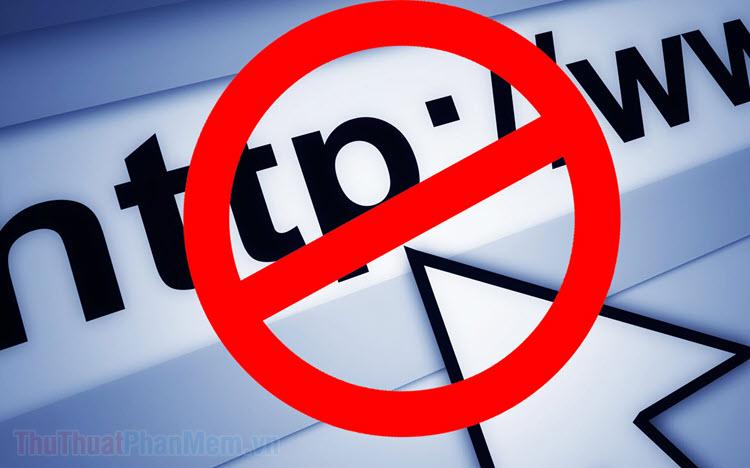 Cách chặn trang Web trên Google Chrome