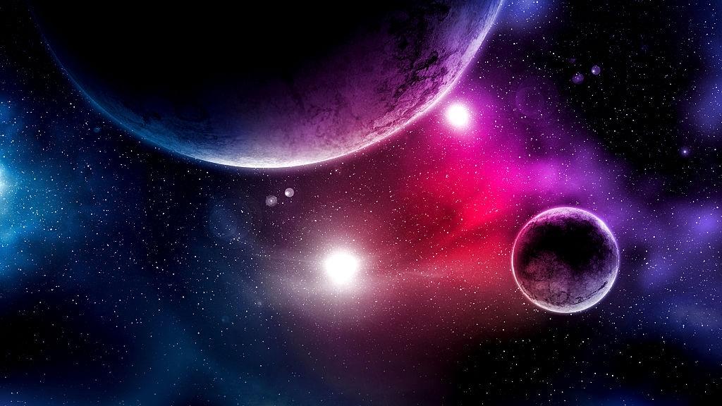 Ảnh background hành tinh vũ trụ