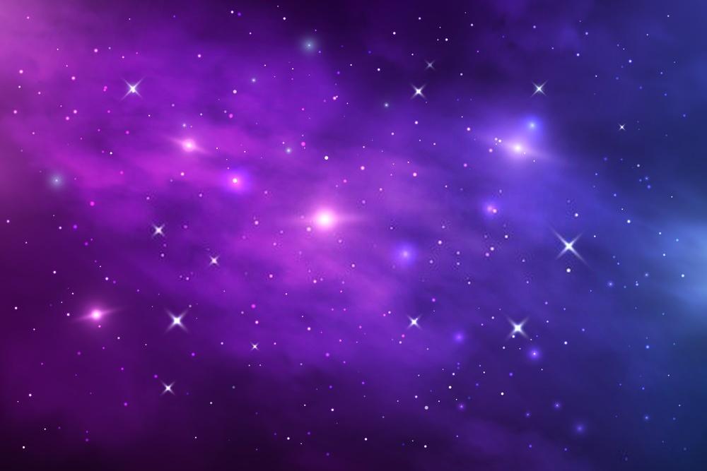 Ảnh background vũ trụ tím