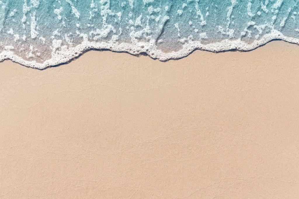 Background bờ biển mùa hè