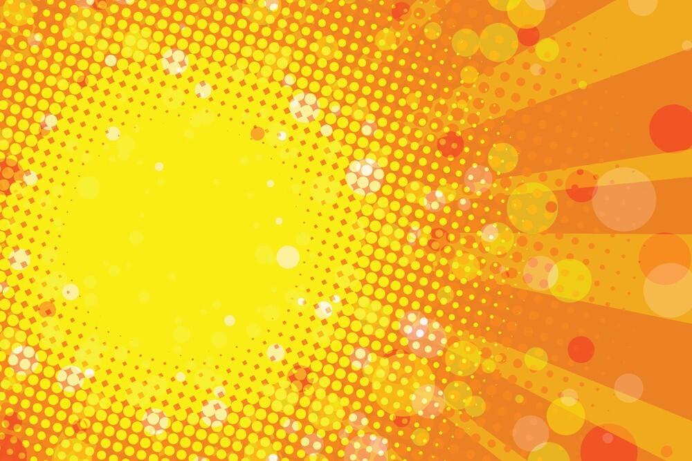 Background màu vàng mùa hè