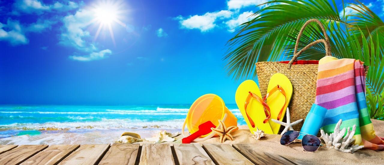 Background nắng mùa hè