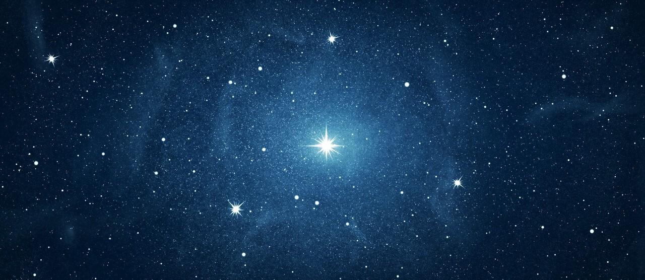 Background sao sáng trong vũ trụ