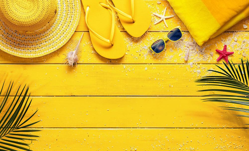 Background slide mùa hè