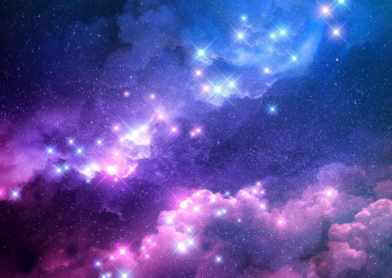 Background vũ trụ lấp lánh