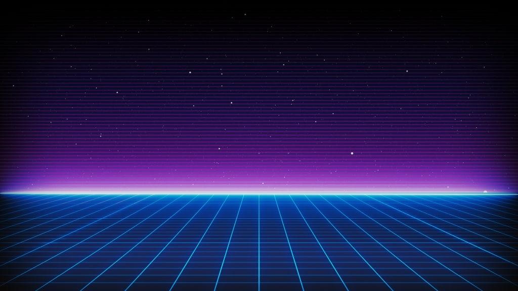Background vũ trụ retro