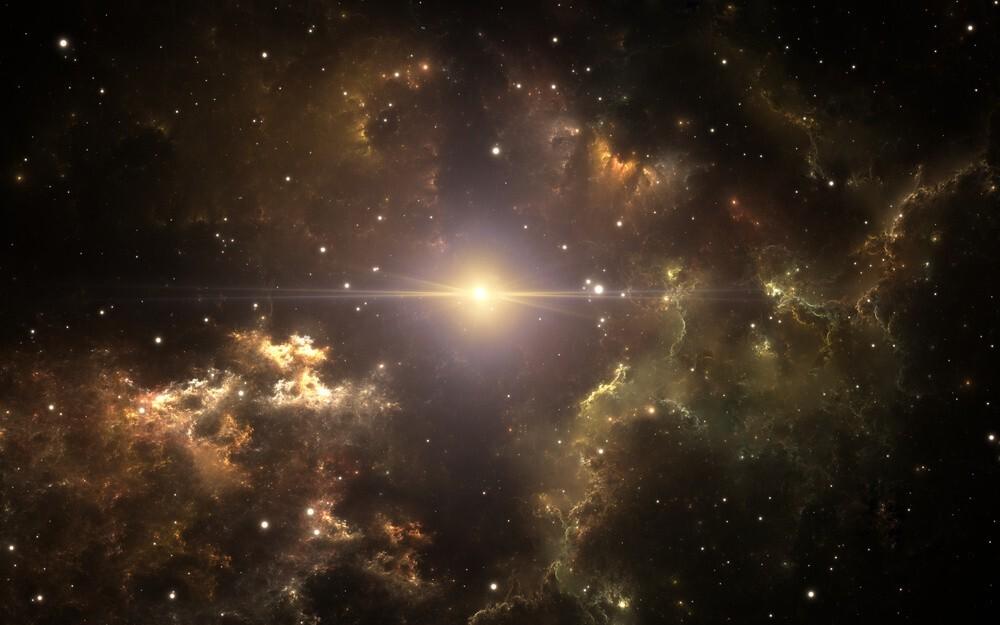 Background vũ trụ sáng