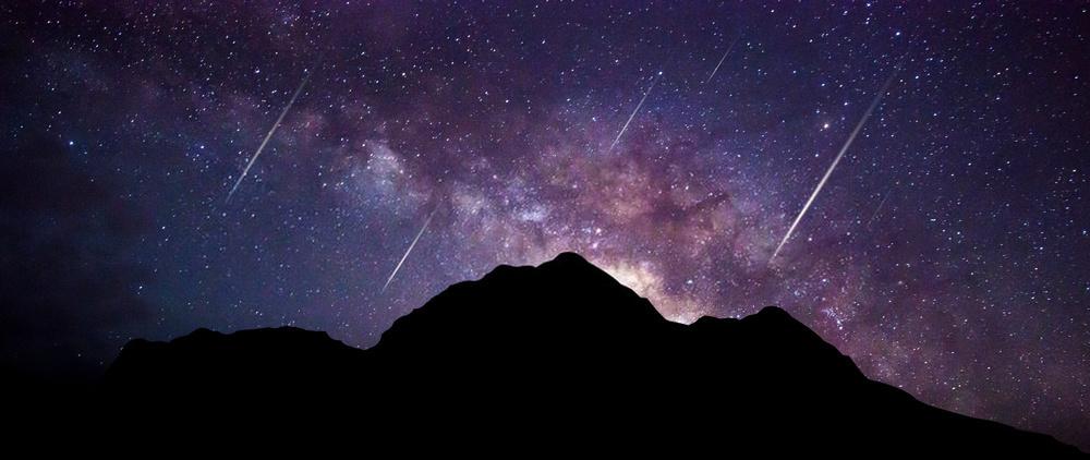 Background vũ trụ trong đêm
