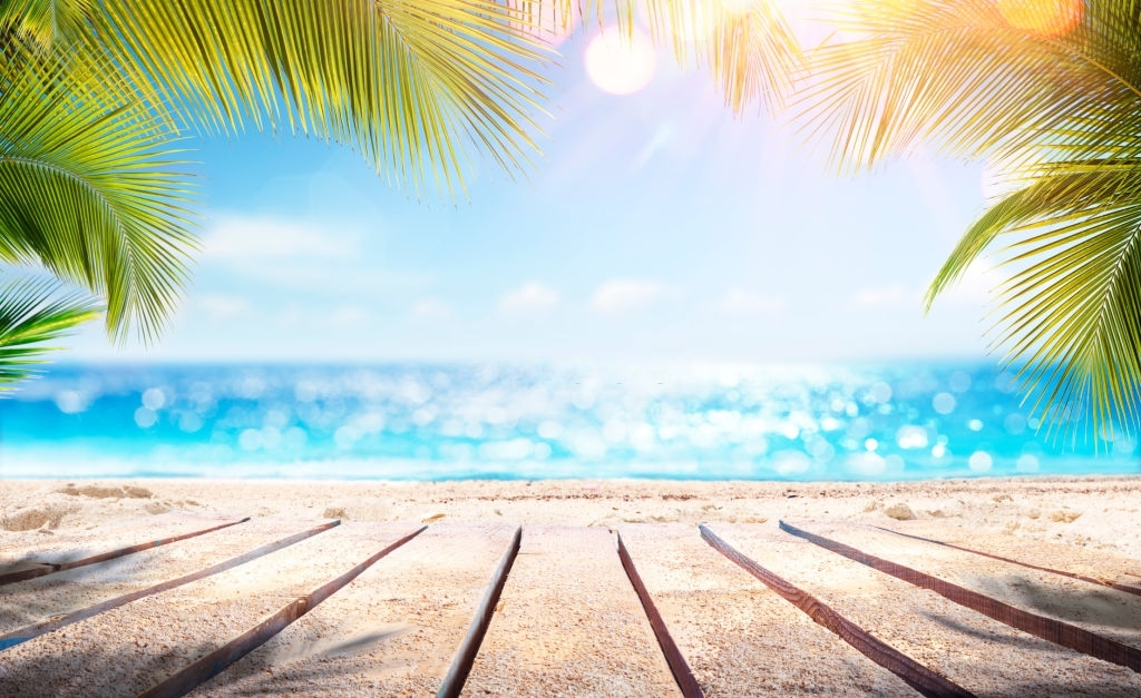 Mẫu background biển mùa hè