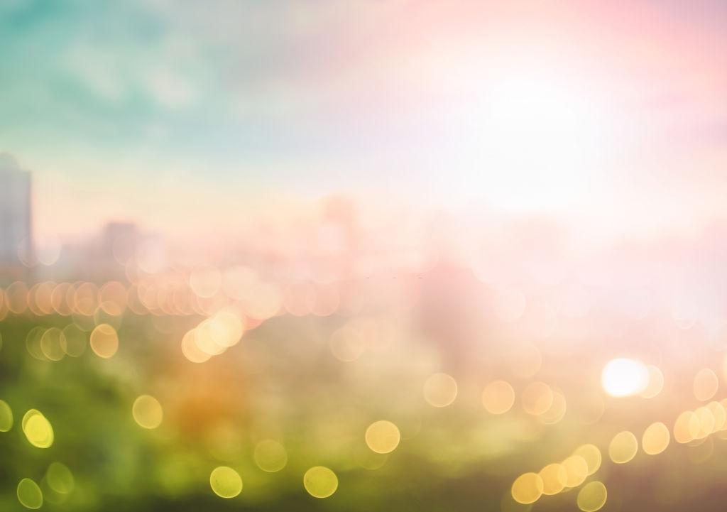 Mẫu background blur mùa hè