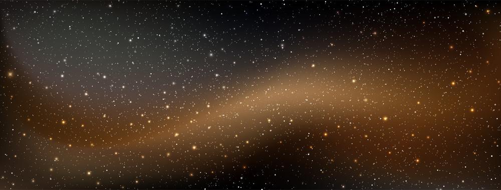 Mẫu background slide vũ trụ