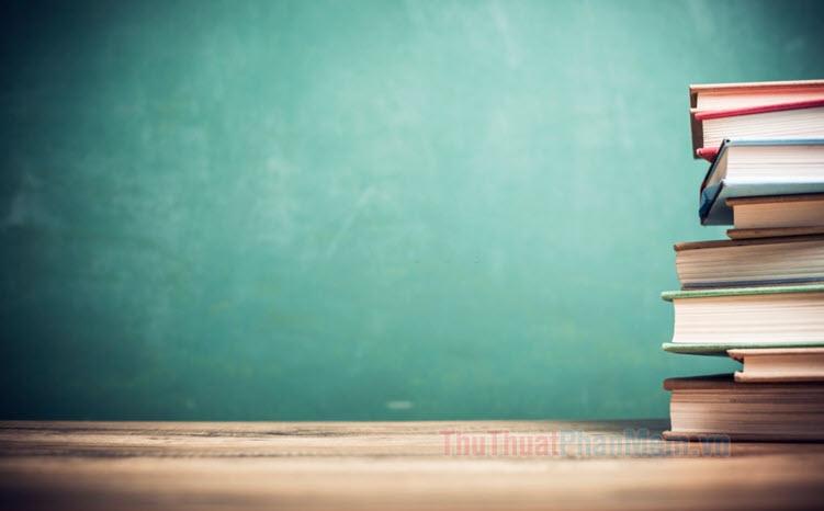 100+ Background học tập đẹp