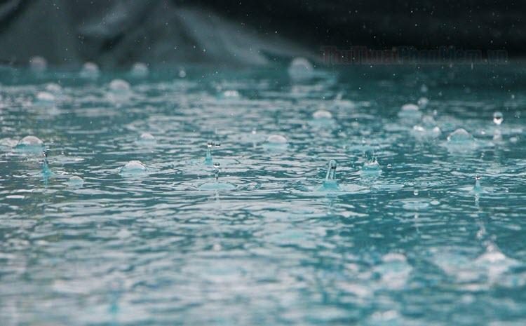 Những câu nói hay về mưa - Stt, status mưa, trời mưa hay nhất